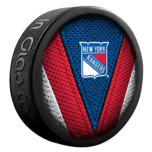 Inglasco NHL New York Rangers 510AN000613 Souvenir Puck by Inglasco