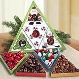 Secret Santa Gourmet Treat Christmas Gift Box Set