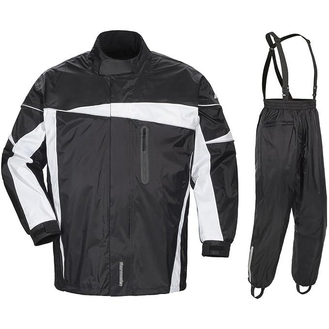 Amazon.com: Tourmaster Defender 2.0 traje de lluvia de dos ...