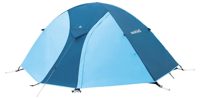 モンベル(mont-bell) テント クロノスドーム1型 (1~2人用)スカイブルー 1122490-SKB