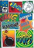 Pierre Belvedere 2013-2014 Hardcover Academic Planner, Kapow