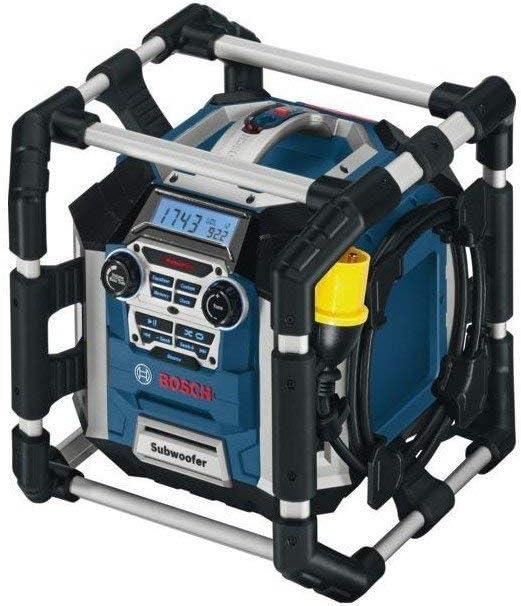 Bosch Professional 06014296W0 Sitio de Radio GML 50, 300 W, azul