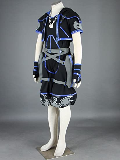 Kingdom Hearts Cosplay Costume - Sora 4th Ver black XXX ...