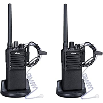 buy Walkie Talkies Voice Scrambler with Earpiece for Adults Outdoor CS Hiking Hunting Travelling Long Distance 2 Way Radios By Luiton