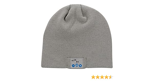 1fd82fb953b Amazon.com  iLive Bluetooth Wireless Knit Stocking Beanie with Microphone  (iAKB45G)  Cell Phones   Accessories