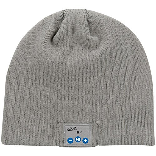 fa373c48c2b Amazon.com  iLive Bluetooth Wireless Knit Stocking Beanie with ...