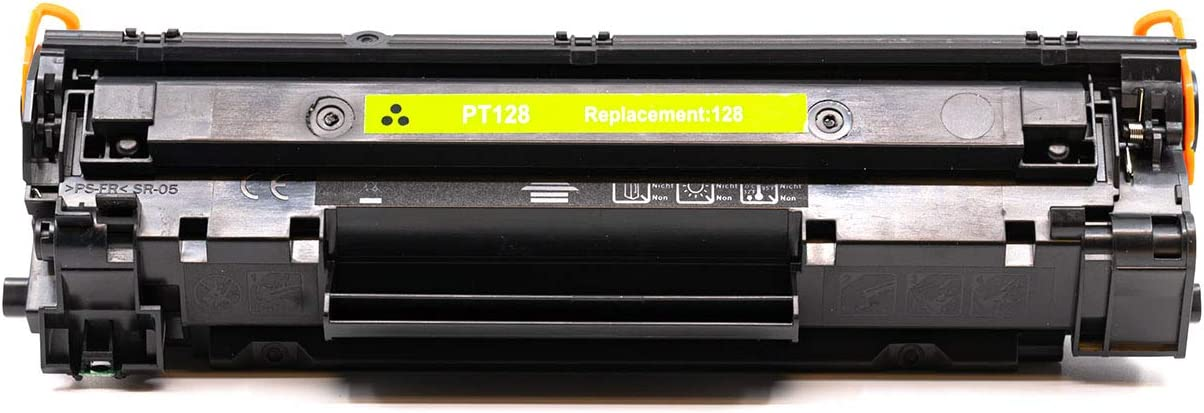 InkSurf Compatible Toner Replacement for Canon 128 Works with: imageCLASS MF4570DN 3500B001AA CRG 128 Black