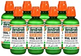 TheraBreath Dentist Recommended Fresh Breath Oral Rinse - Mild Mint Flavor ZOZlZn, 16 Ounce (Pack of 8)