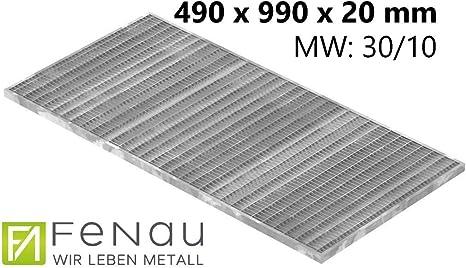 Gitterrost Normrost verzinkt 1000x400x20 mm 30//30