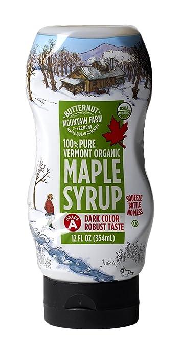 2571ced95f4 Amazon.com   Butternut Mountain Farm 100% Pure Organic Maple Syrup ...