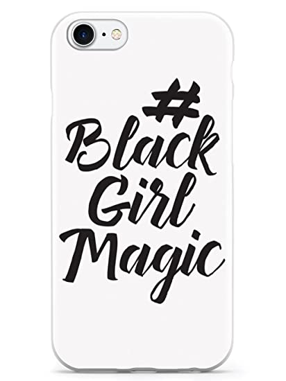 pretty nice 3c4d6 2d3a1 Amazon.com: Inspired Cases #BlackGirlMagic - White Case - Apple ...