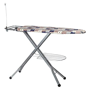8b7cdd893a1 Buy TruGood Iron Table for Ironing Clothes Folding Board Big Size with Press  Stand (Metal Mesh Premium) Online at Low Prices in India - Amazon.in