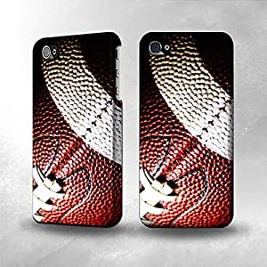 Apple iPhone 4 / 4S Case - The Best 3D Full Wrap iPhone Case - American Football