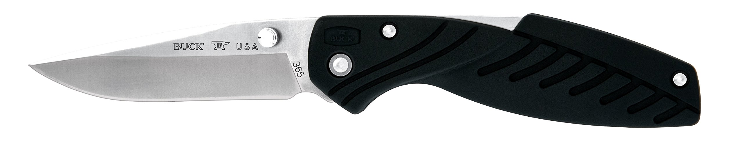 Buck Knives 365 Rival II Folding Knife with Removable Clip