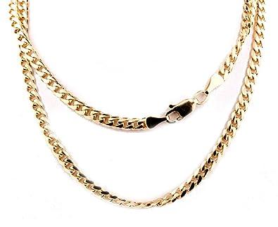 10k Gold Cuban Link Chain >> Midwest Jewellery 10k Gold Cuban Link Chain Miami Link