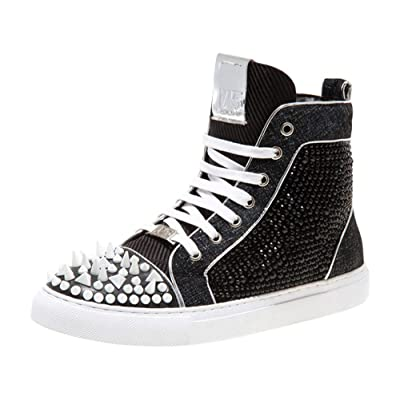 J75 Men's Carthage High Top Spiked Sneaker | Fashion Sneakers