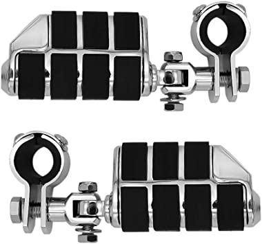 KEMIMOTO Motorcycle Highway Pegs Foot Peg for Tri Glide Sportster Electra Road Glide Road King Street Glide