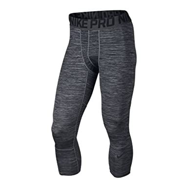 3e878f4584fdb Amazon.com: Nike Men's Pro Hypercool Training Tights Black Grey ...