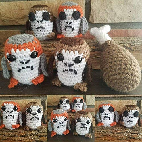 Amazon.com: Cute Crochet Llama Peppercorn Lovely & Cuddle ... | 500x500