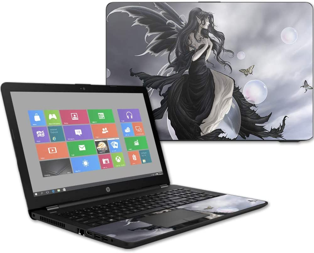 """Mightyskins Skin Compatible with Hp 15t Laptop 15.6"""" (2017) - Gathering Storm 