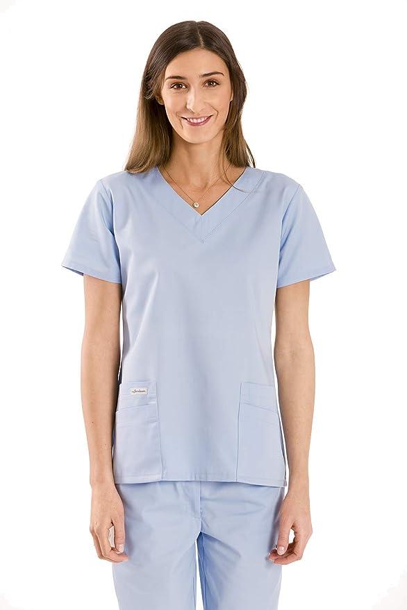 myscrubs Sudadera médica de Mujer Costura Uniforme médico ...