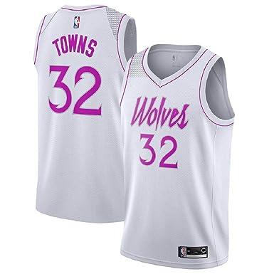 new concept b4b8f 25513 Majestic Athletic Karl-Anthony Towns #32 Minnesota Timberwolves 2018-19  Swingman Men's Jersey White
