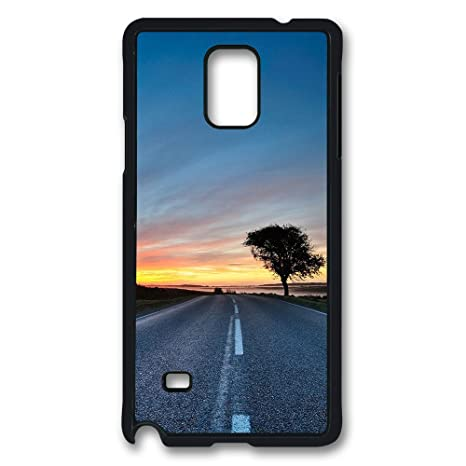 Sun vigor Samsung Galaxy Note 4 Case Hdr carretera duro PC ...