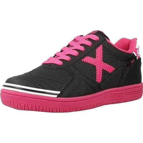 Zapatillas para niï¿œa, color Negro , marca MUNICH, modelo Zapatillas Para Niï¿œa MUNICH G-3 KID BTS Negro: Amazon.es: Zapatos y complementos