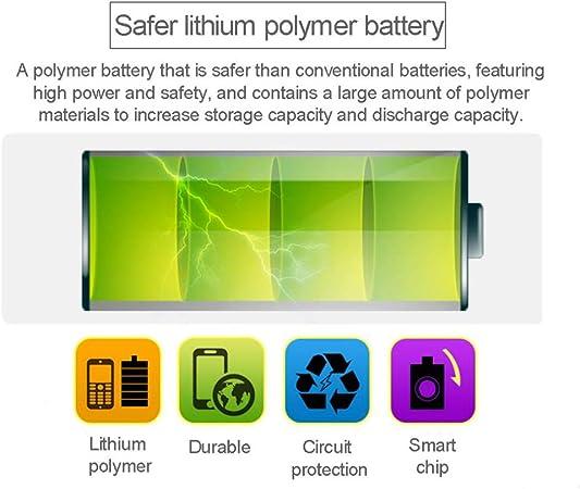 Batería de litio recargable DZ09 de la batería de Smartwatch con ...