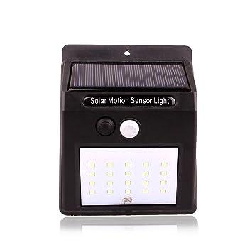 Verus 20 LED Sensor de luz al aire libre luces solares impermeables inalámbrico solar sensor de