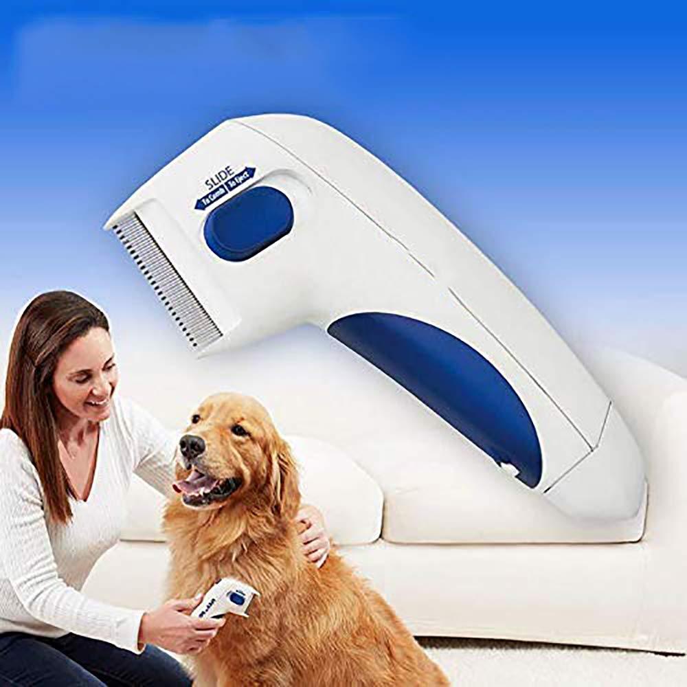 Y&J Flea Doctor Comb Electric Dog Anti Flea Comb Head Lice Remover Pets Flea Control Flea&tick Killer Pets Products by Y&J (Image #3)