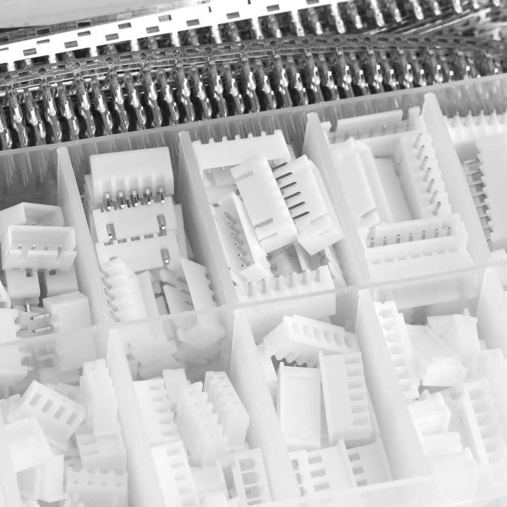 1220PCS kit connettore 2.54/mm PCB connettore terminale intestazioni box imballaggio per DuPont