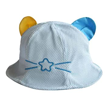 04fc0898a Amazon.com : Lovely Cap Cotton Sunhat Foldable Beach Hat Great Gift ...