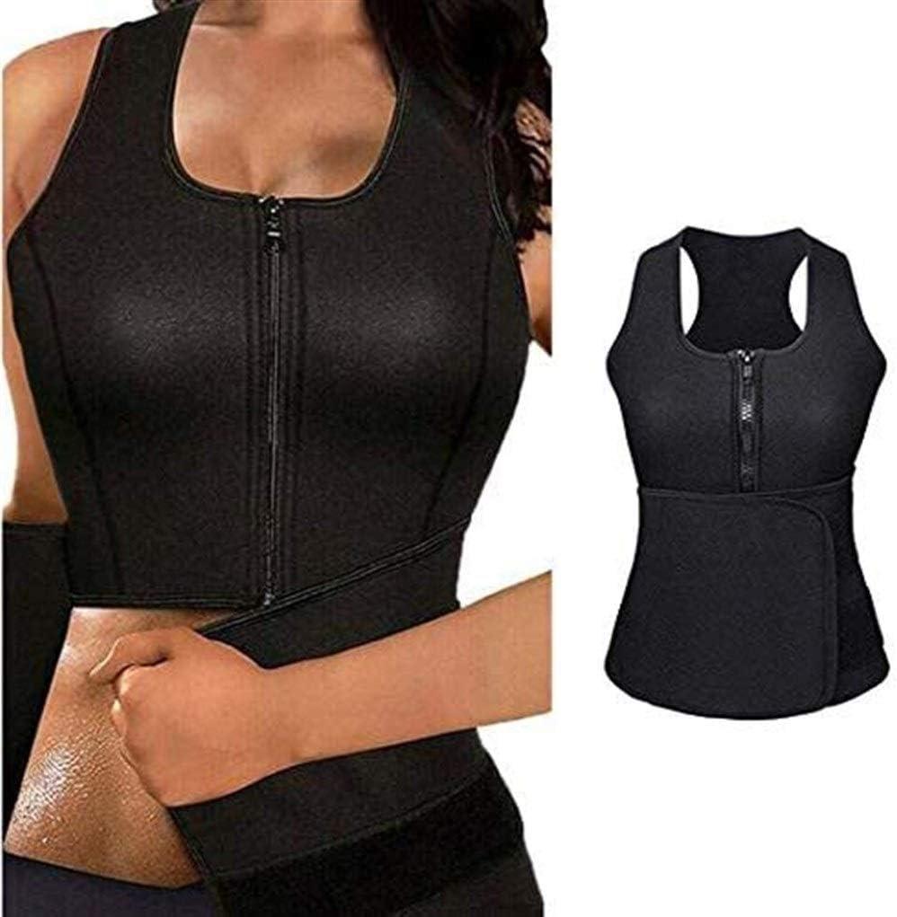 CYGGA Mujeres Sudor Caliente Body Shaper Tank Thermo Yoga ...