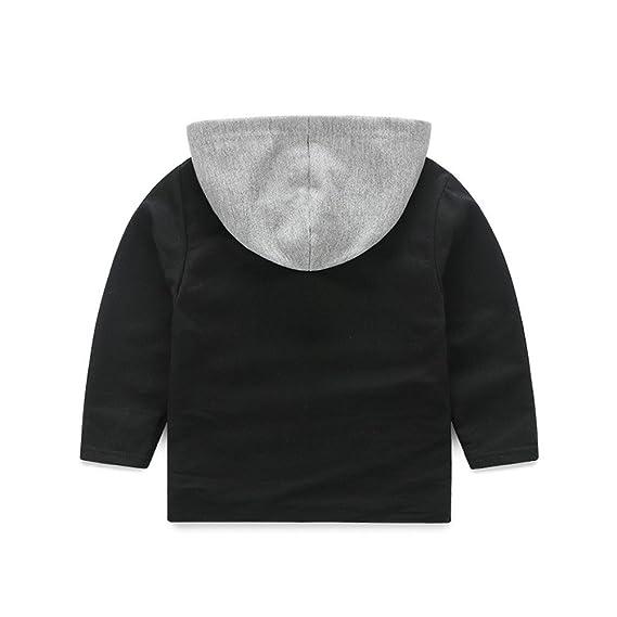 feiXIANG Ropa de bebé para niños Primavera y Verano bebé recién Nacido bebé niña con Capucha Dinosaurio de Manga Larga Camiseta bebé Camisa + Pantalones: ...