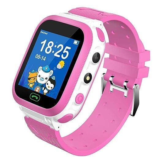 True-Ying Reloj Inteligente para niños con Tarjeta SIM DS66 ...