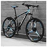 61ksgYTwFtL. SS150 Bicicletta, Pieghevole Bicicletta Mountain Bike, 26 Pollici 24 velocità Biciclette, Bicicicletta MTB, Assorbimento degli…