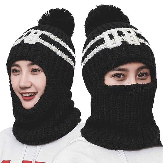 a22ef88de LOLBUY 3-in-1 Women's Slouchy Beanie Winter Hat Knit Warm Snow Ski Skull Cap