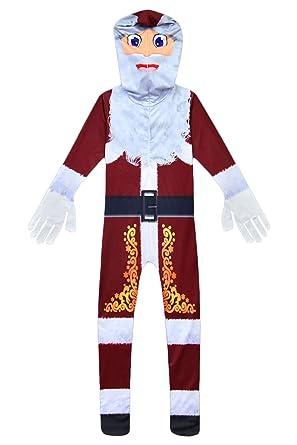 Amazon.com: Hacos Niños Santa Claus Disfraz Mono Navidad ...