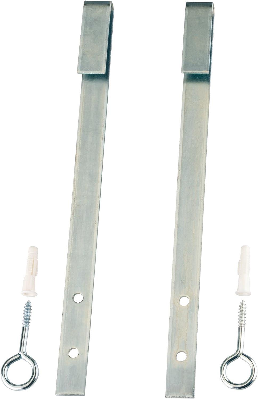 BASI/® Gitterrost-Sicherung GS70 Einbruch-Schutz Zusatz-Sicherung f/ür Licht-Schacht Keller-Schacht