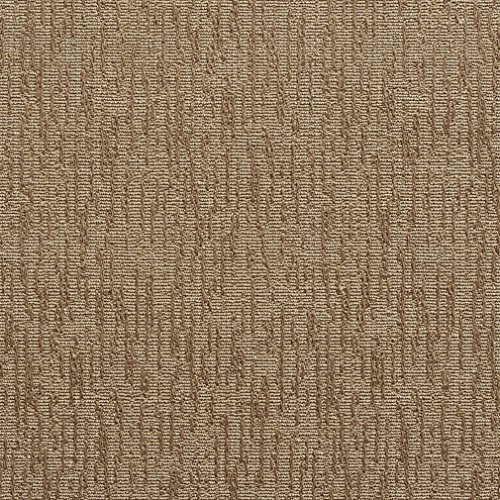 Sand Beige and Brown Contemporary Plain Brocade Upholstery Fabric by the yard (Taupe Brocade)
