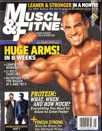 Muscle & fitness 2007 August - Arnold Exclusive