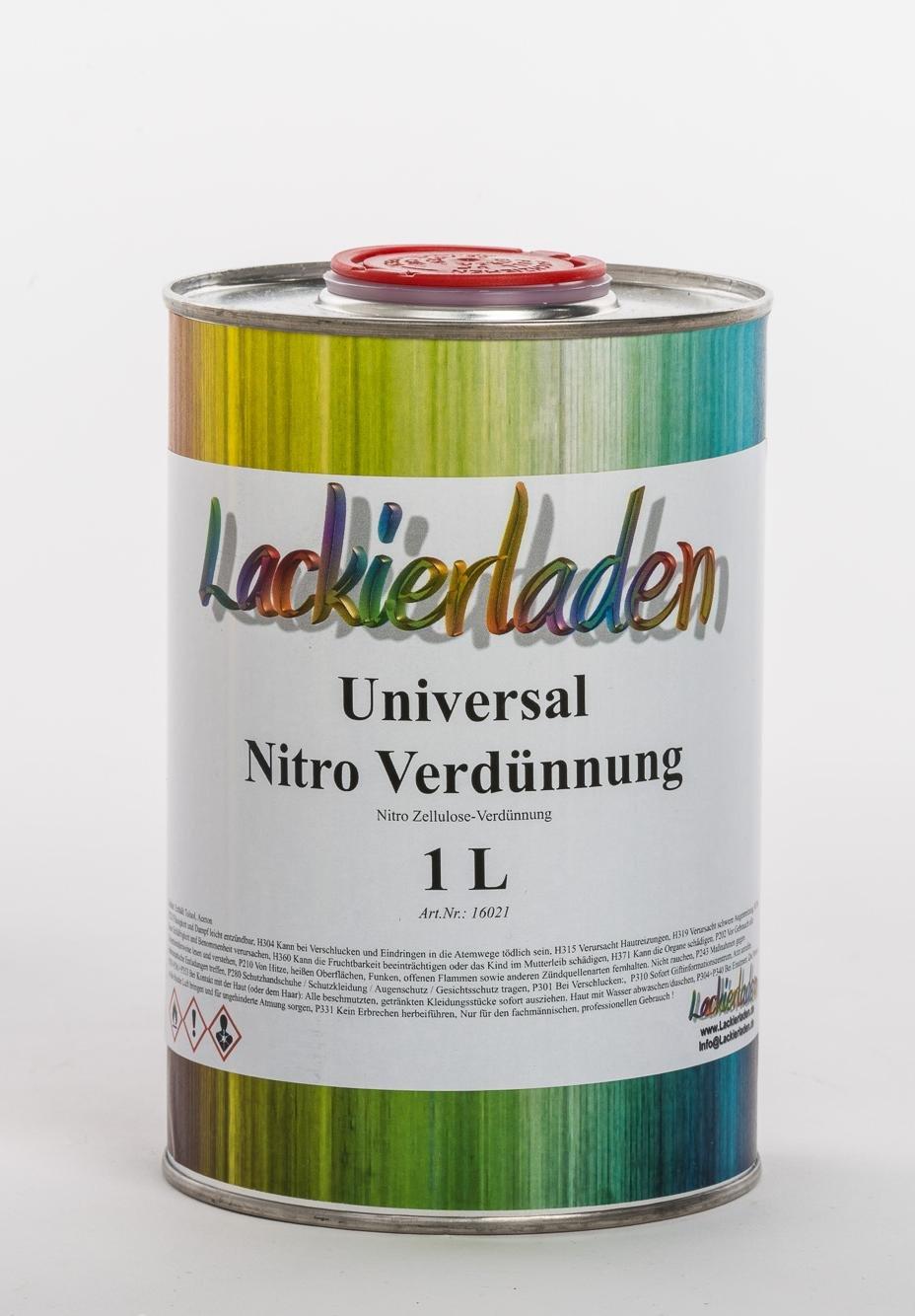 Universal Nitro Verdü nnung 1 L Lackierladen