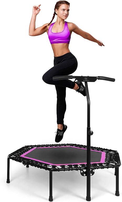 KLAR FIT Klarfit Pro Cama elástica de Fitness: Amazon.es: Deportes ...