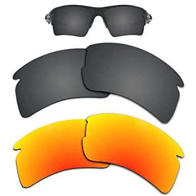 067b55141aa Image Unavailable. Image not available for. Color  Kygear Replacement  Lenses Different Colors for Oakley Flak 2.0 XL ...