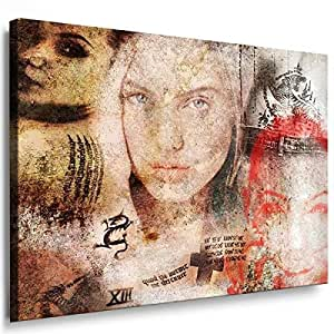 Art On Canvas - Frame 100x70x2cm Movie 7014