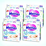 Merries Diapers newborn (Birthday ~ 5kg) free-flowing air through 360 sheets (90 sheets × 4)
