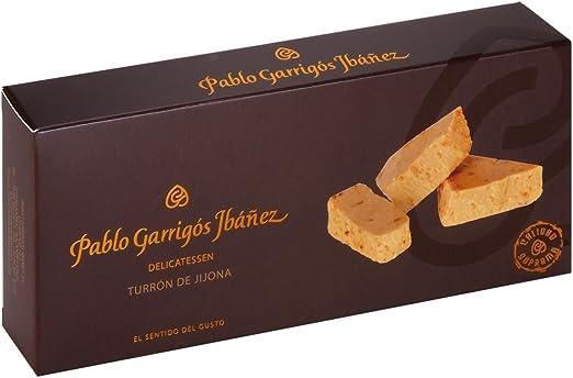 Pablo Garrigós Jornet Barra de Turrón de Jijona - 300 gr: Amazon ...