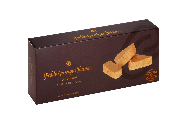 Pablo Garrigos Ibáñez Delicatessen Turron de Jijona (Soft Almond Turron) 10.5 oz (300 grm) (Pack of 12)