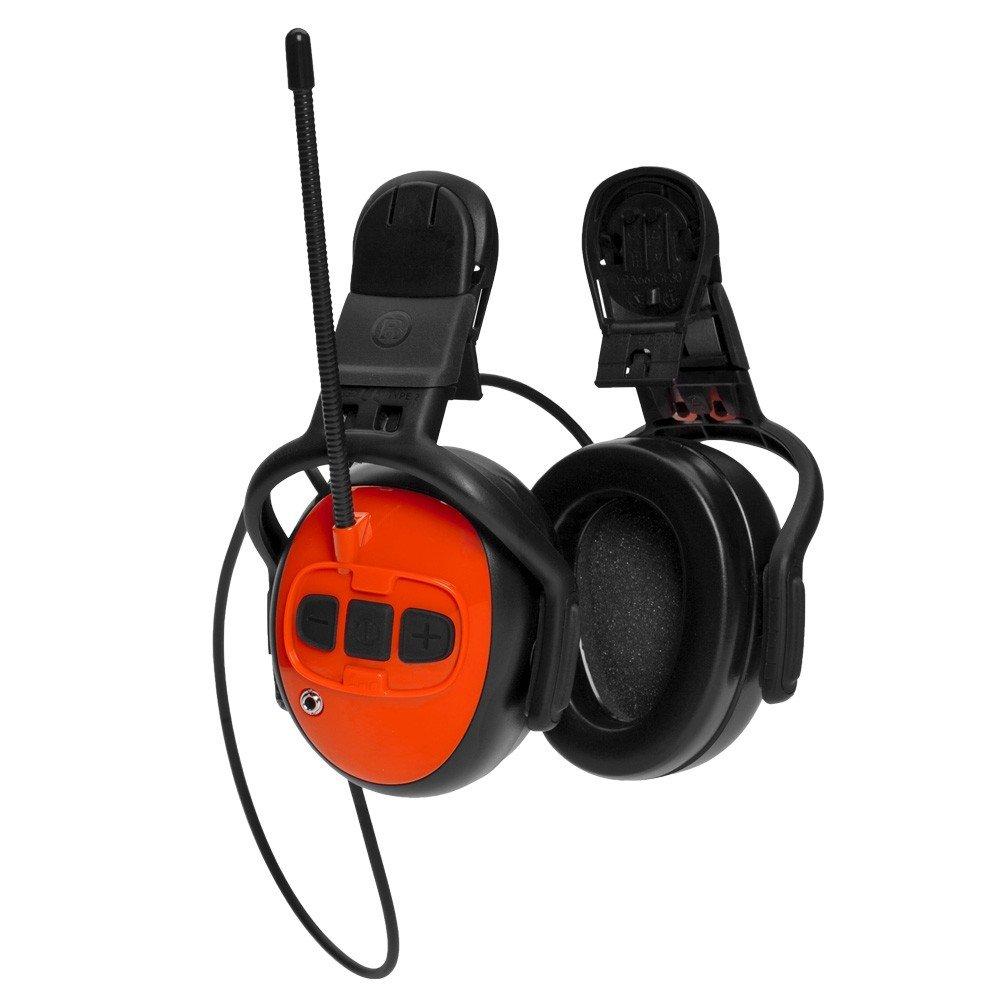 Husqvarna Audición Protección Oído Manguitos con MP3/Radio: Amazon ...